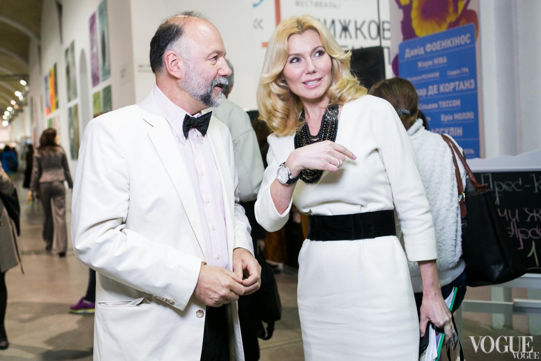Андрей Курков и Наталья Заболотная