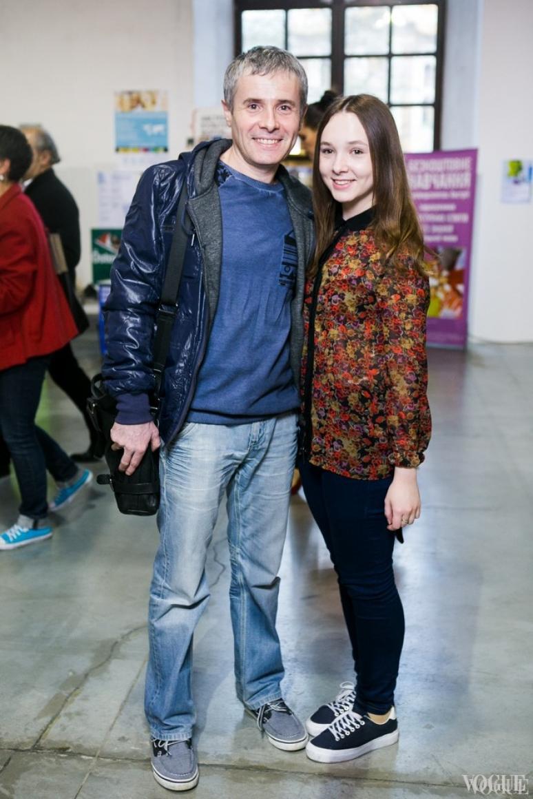 Константин Грубич с дочерью