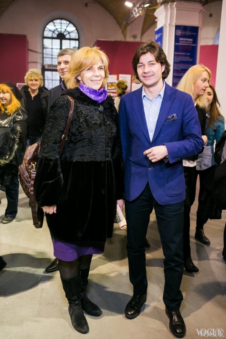 Ольга Богомолец и Евгений Нищук