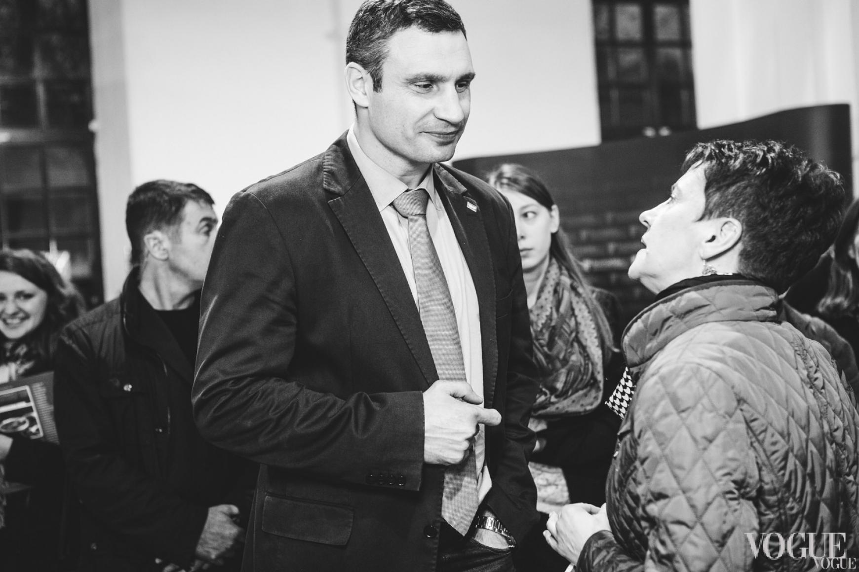 Виталий Кличко и Оксана Забужко