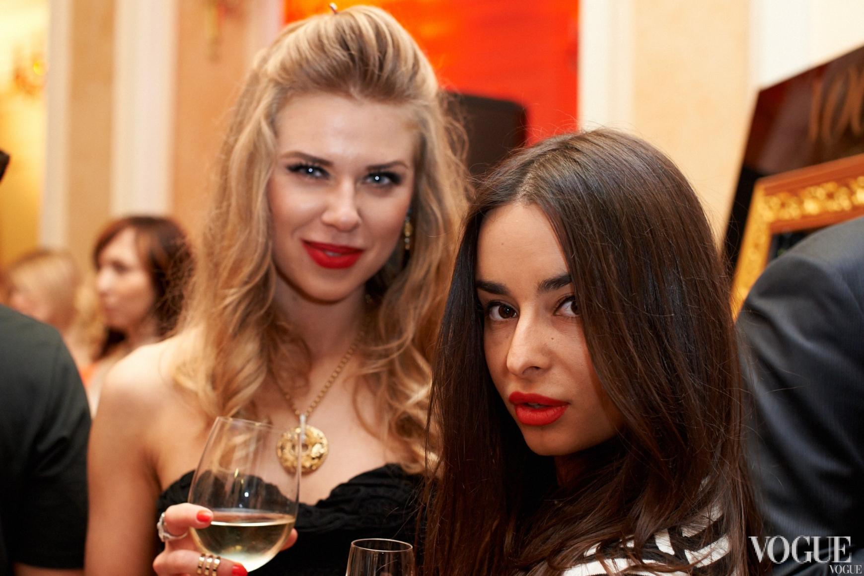 Анастасия Сличная и Ирина Пожарская
