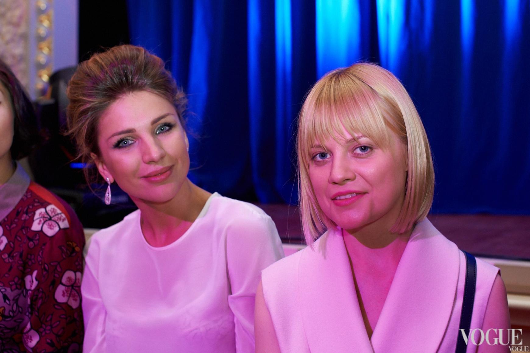 Екатерина Сильченко и Ксения Киреева