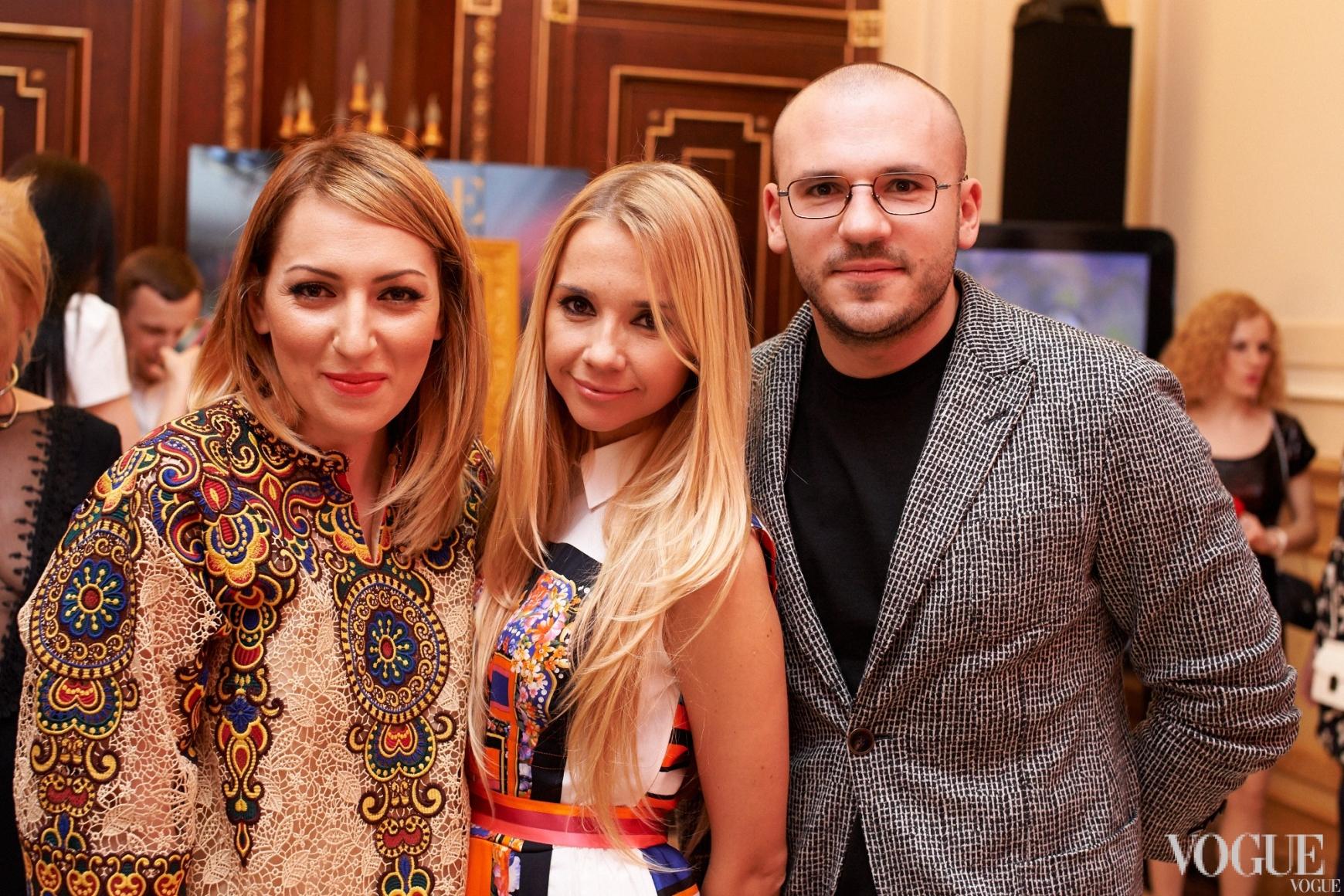 Ася Мхитарян, Ирина Турбаевская, Дмитрий Евенко