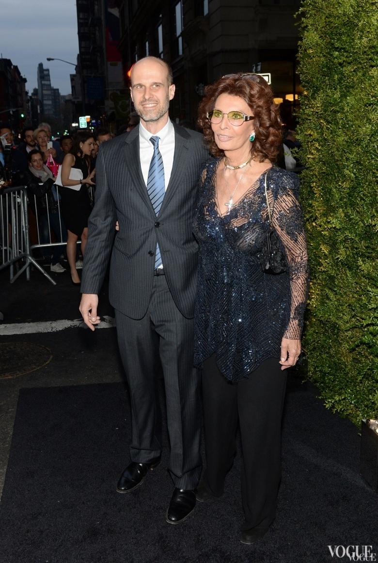 Софи Лорен и Эдуардо Понти