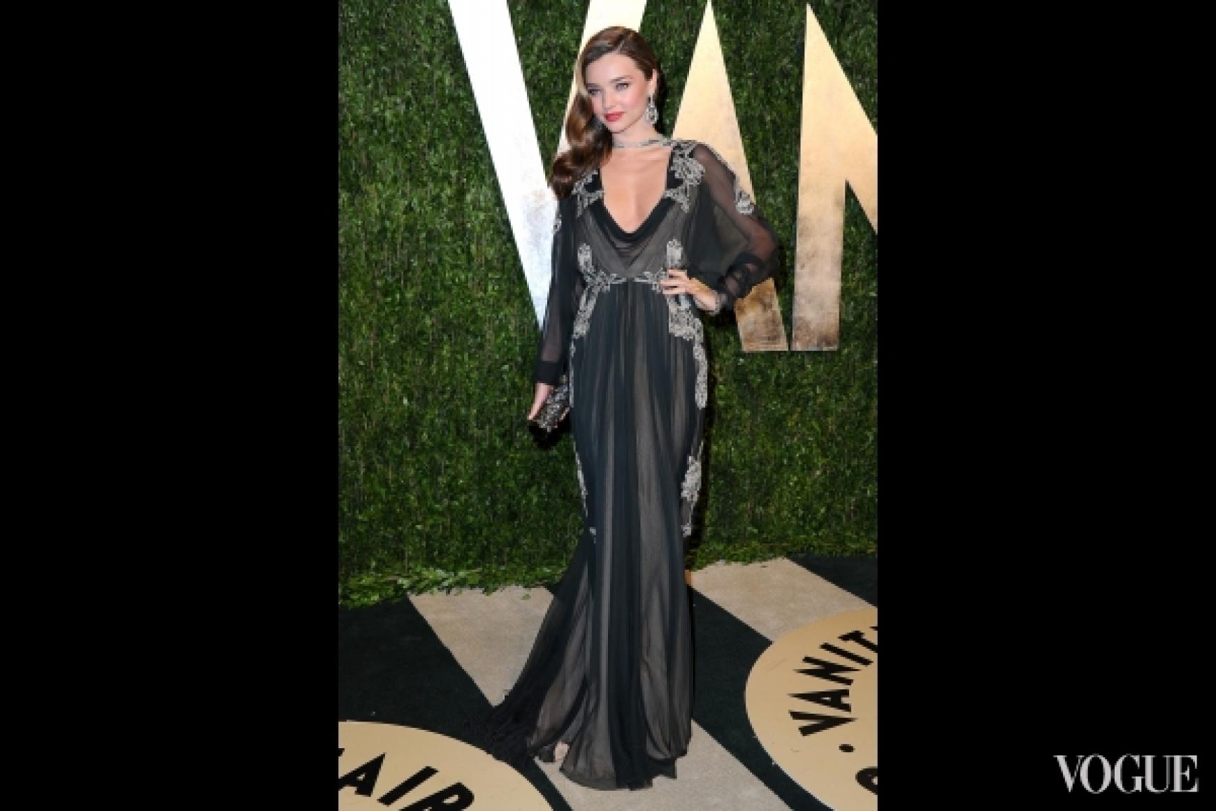 Миранда Керр в платье Valentino Fall 2012 Couture