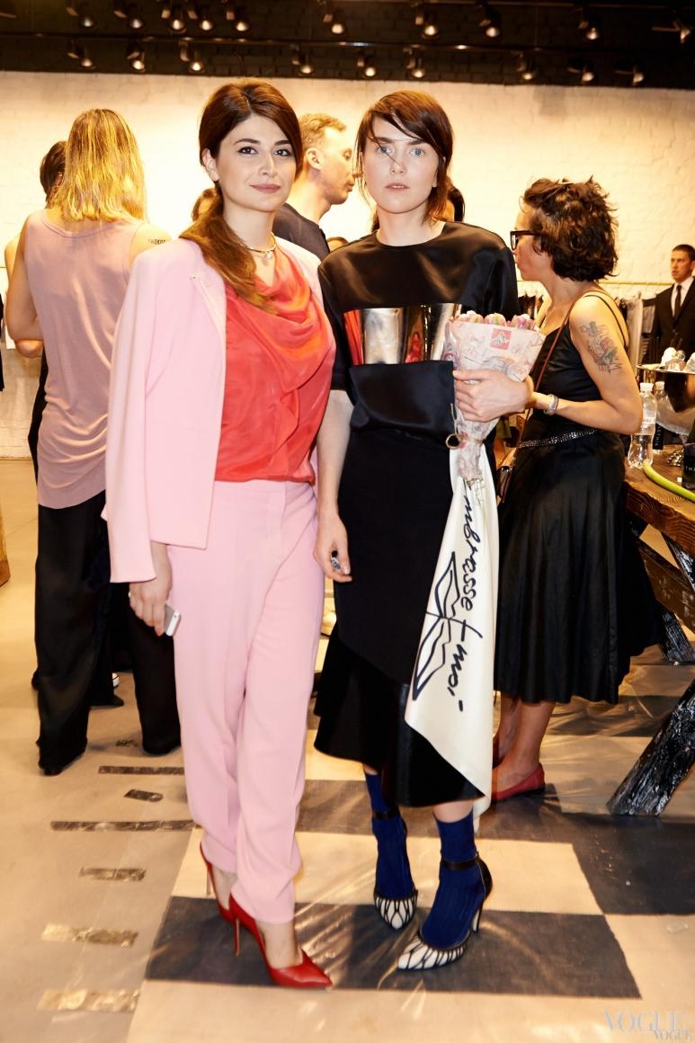 Нина Васадзе и Лилия Литковская