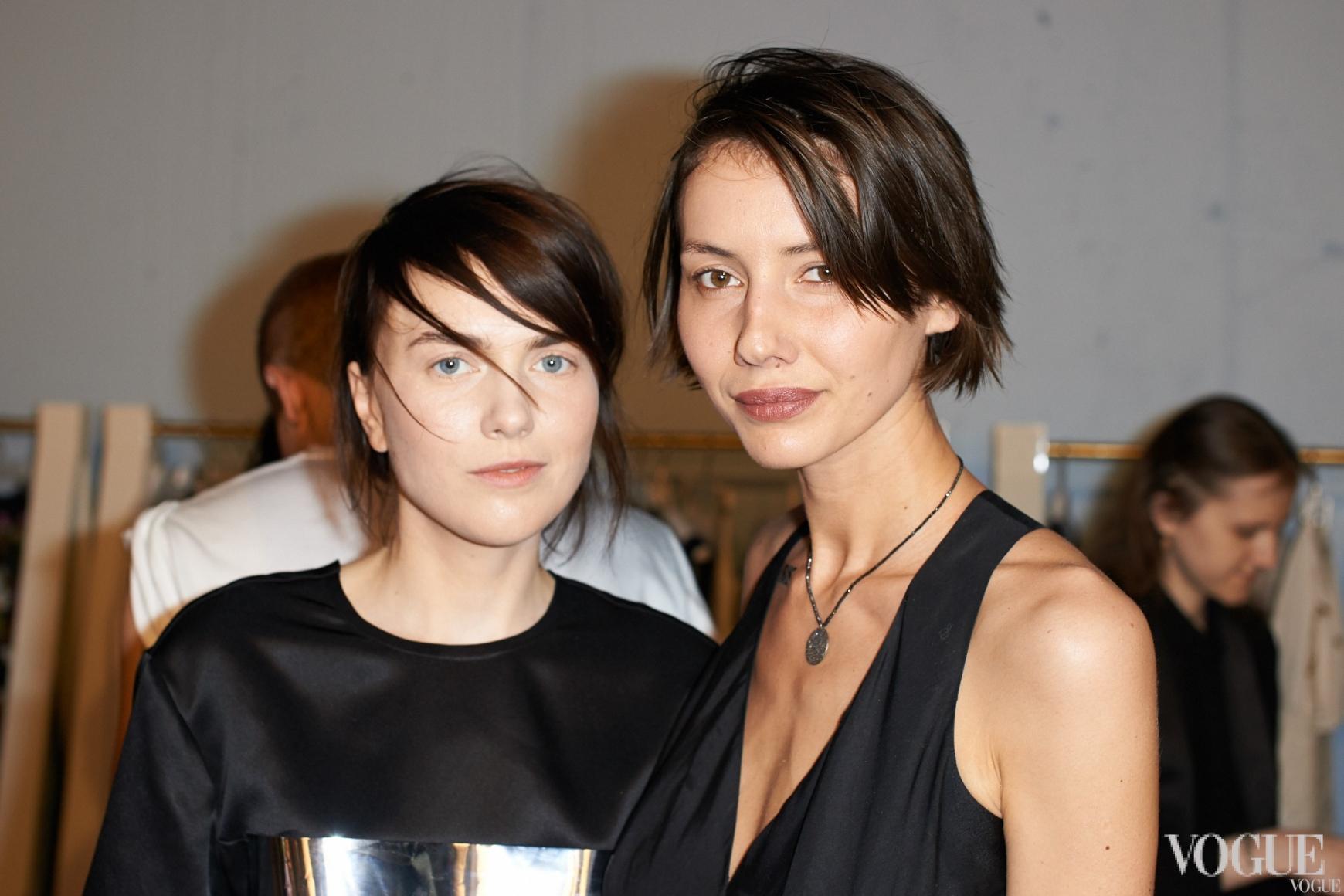 Лилия Литковская и Юлия Пелипас