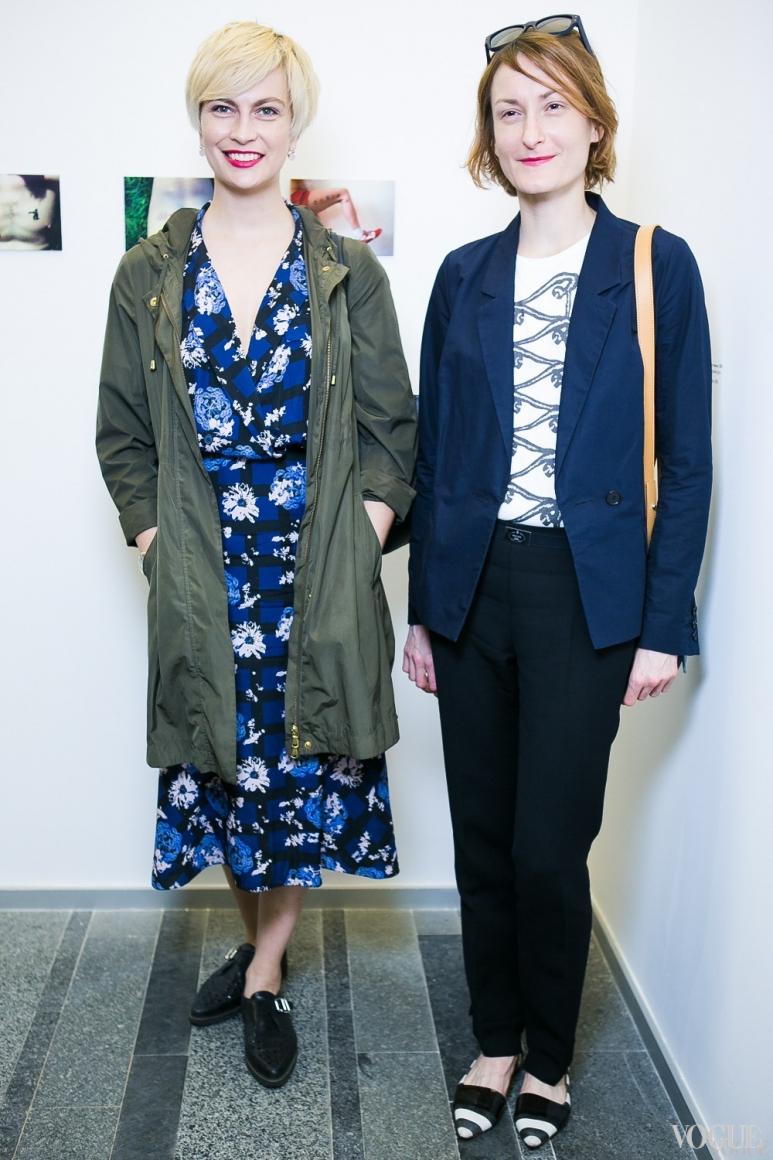 Маша Цуканова и Татьяна Соловей