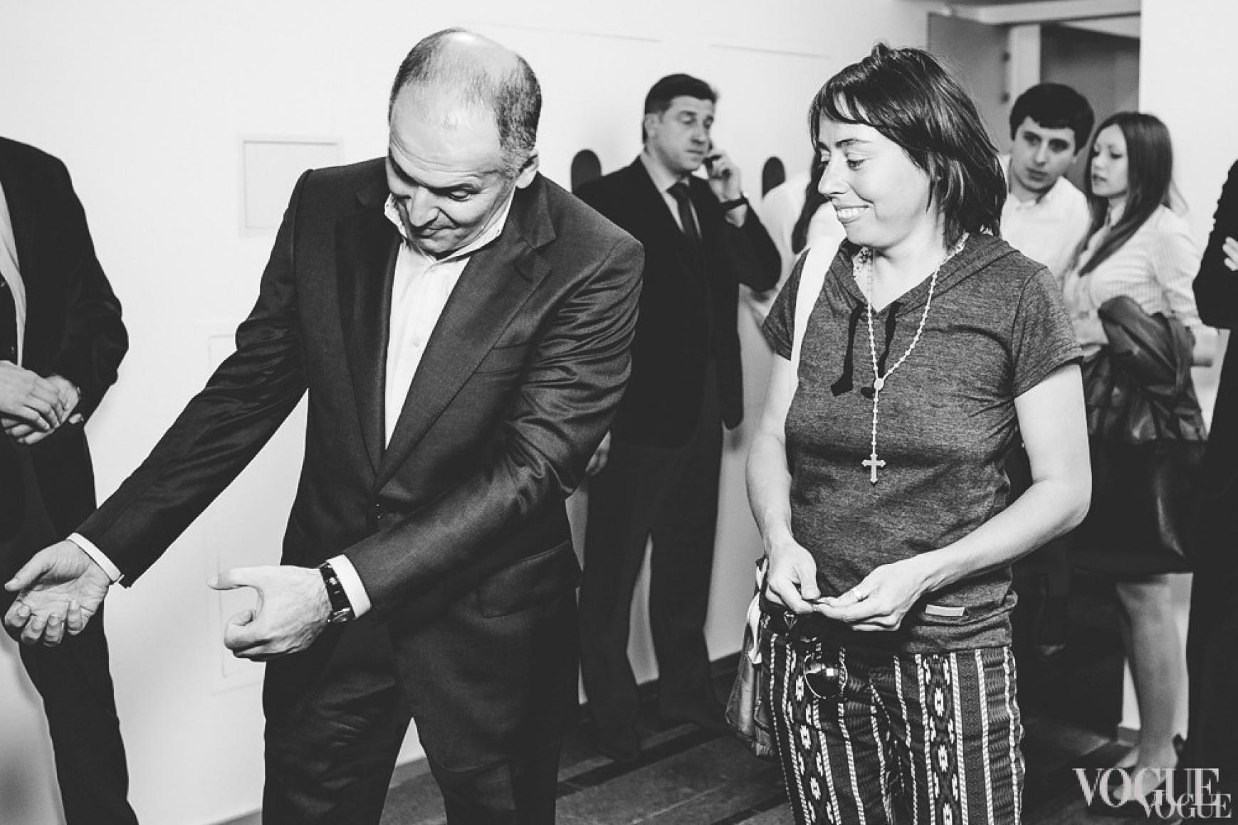 Виктор Пинчук и Жанна Кадырова