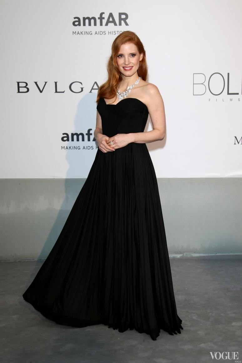 Джессика Честейн в Givenchy Couture