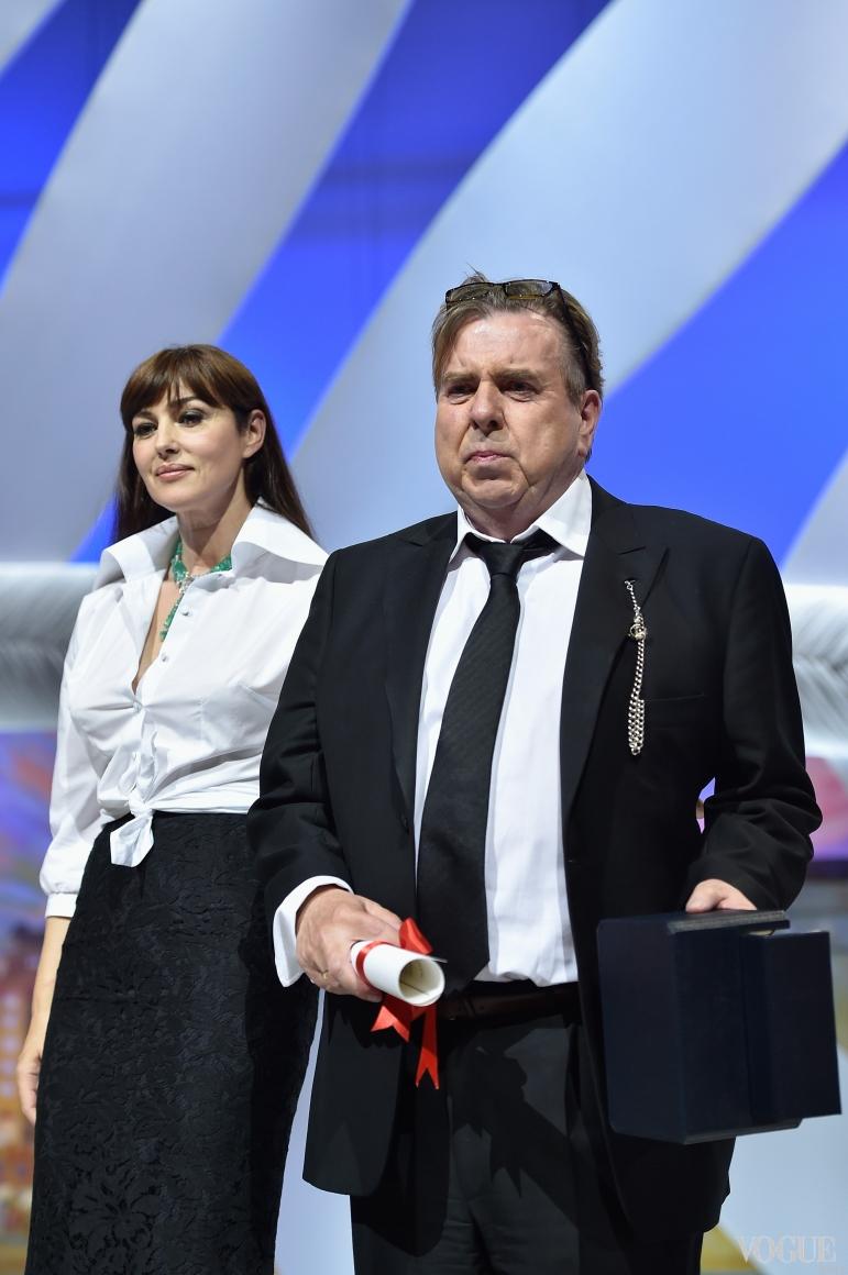 Моника Беллучи и Тимоти Сполл
