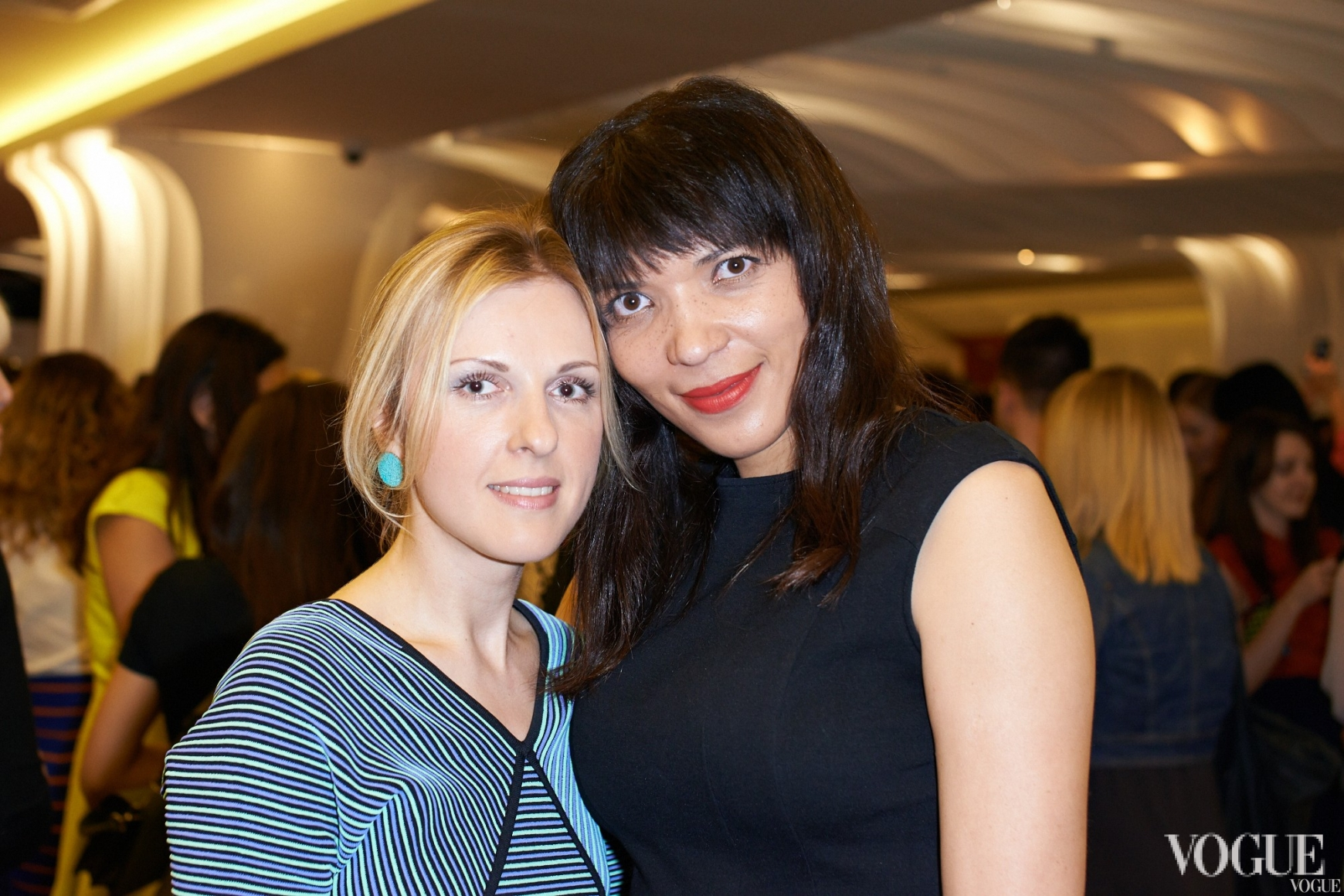 Юлия Костецкая и Александра Писанкина