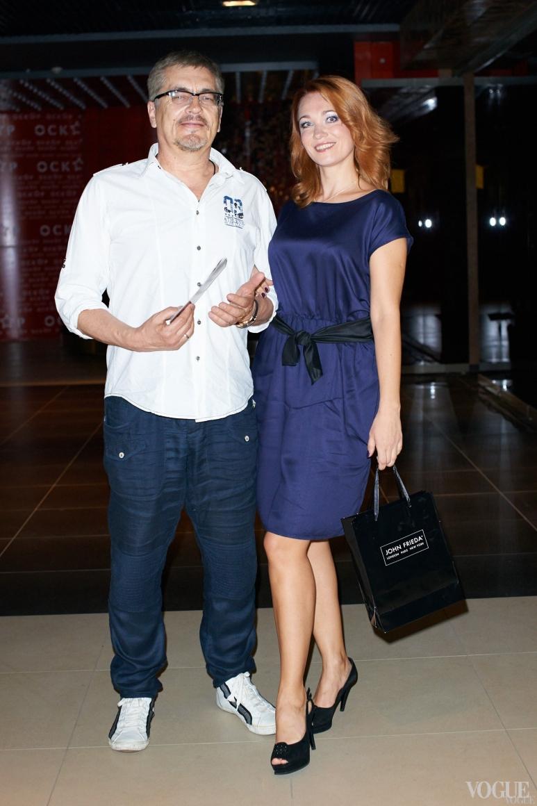 Анатолий Матешко с супругой Анастасией
