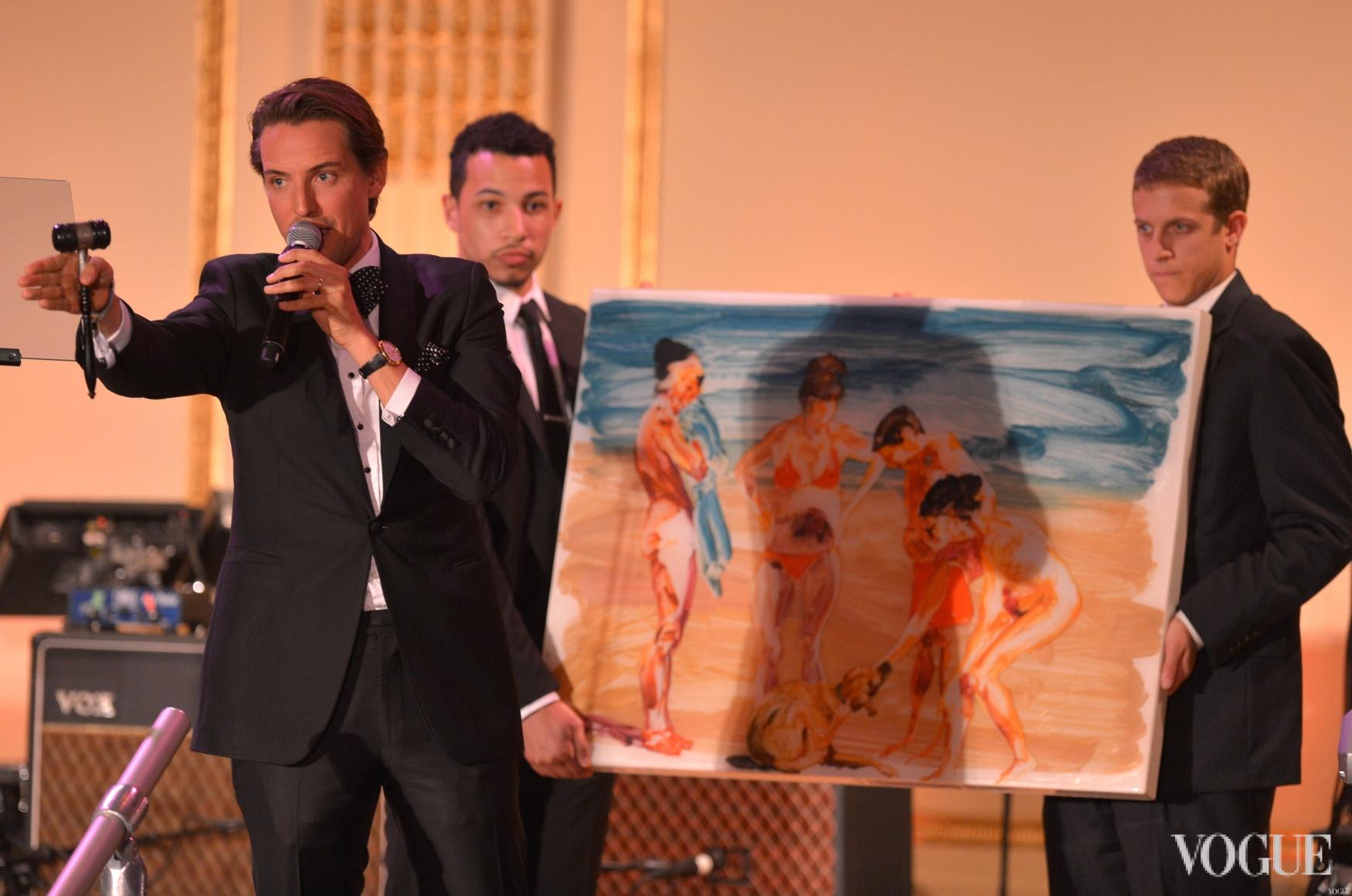 Аукцион amfAR Inspiration Gala в Нью-Йорке
