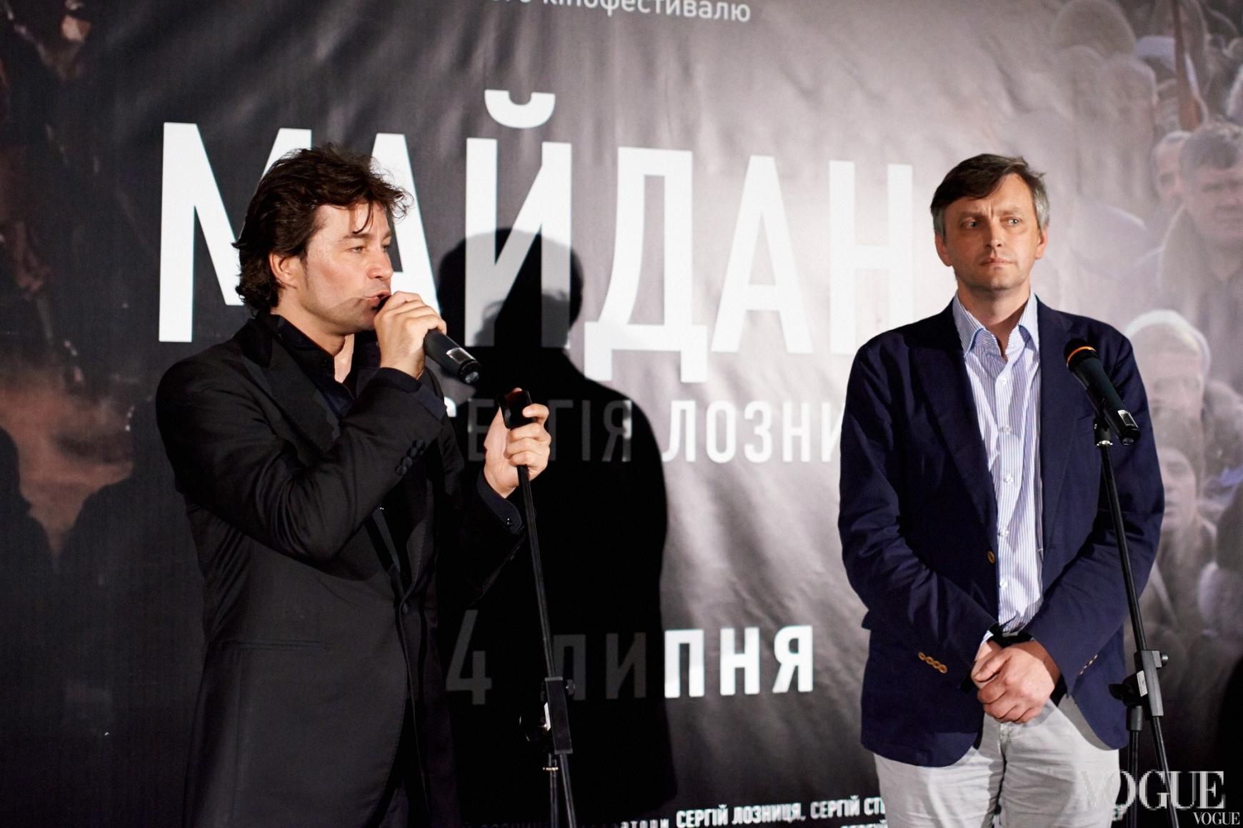 Евгений Нищук и Сергей Лозница