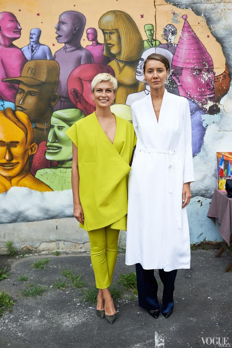 Маша Цуканова и Юлия Пелипас