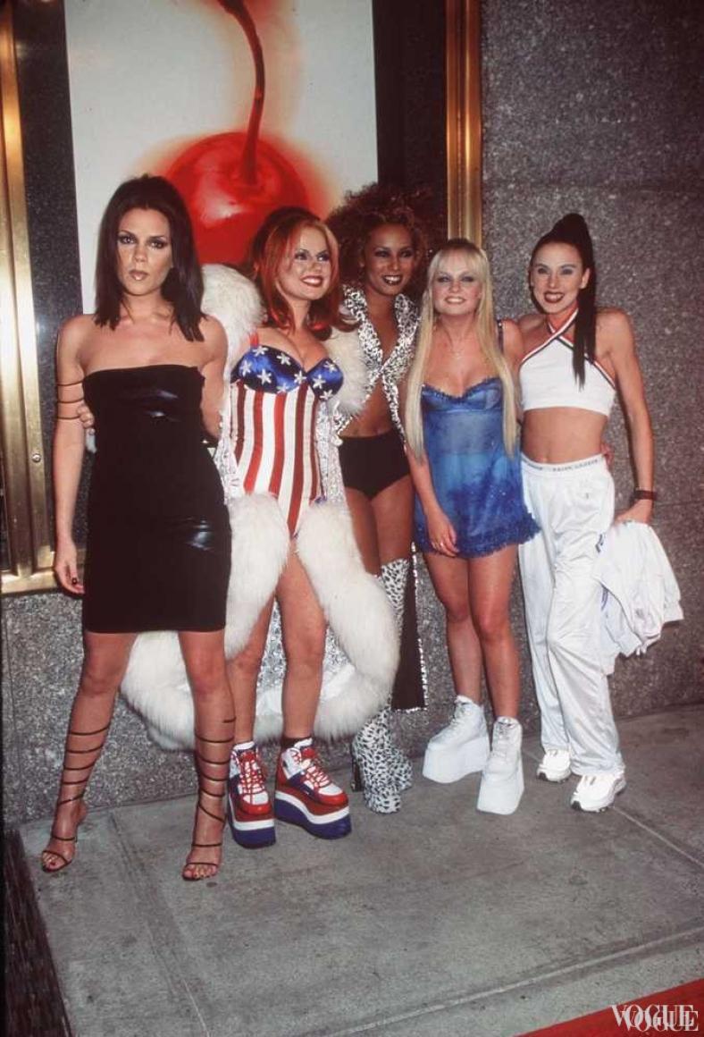Spice Girls на церемонии MTV Video Music Awards 1997