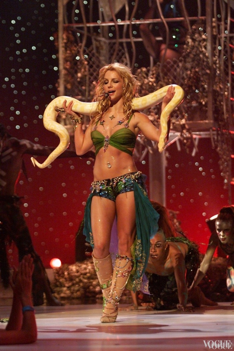 Бритни Спирс Мадонна на церемонии MTV Video Music Awards 2001