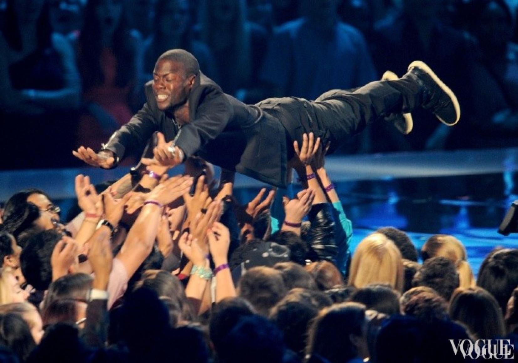 Кевин Харт Мадонна на церемонии MTV Video Music Awards 2012