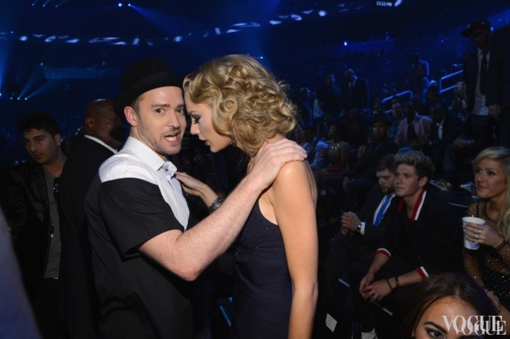 Джастин Тимберлейк и Тейлор Свифт на церемонии MTV Video Music Awards 2013