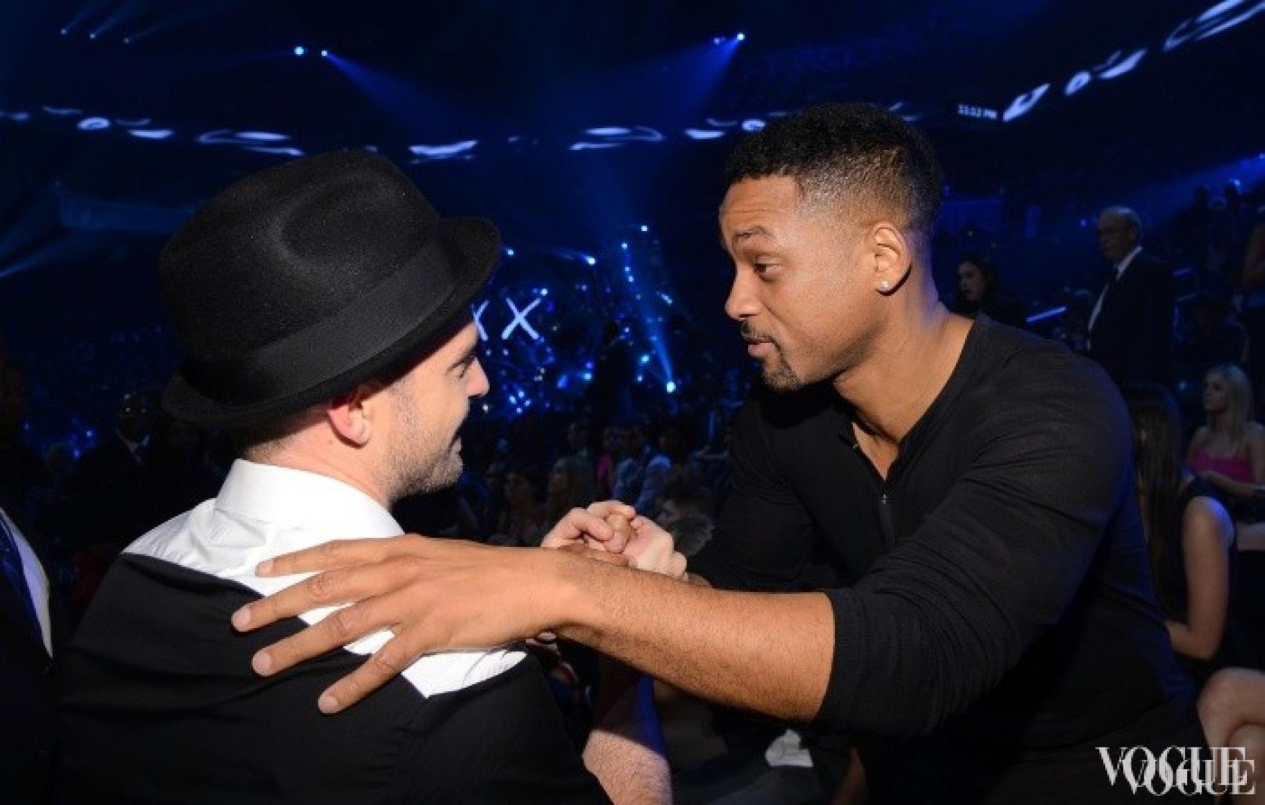 Джастин Тимберлейк и Уилл Смит на MTV Video Music Awards 2013