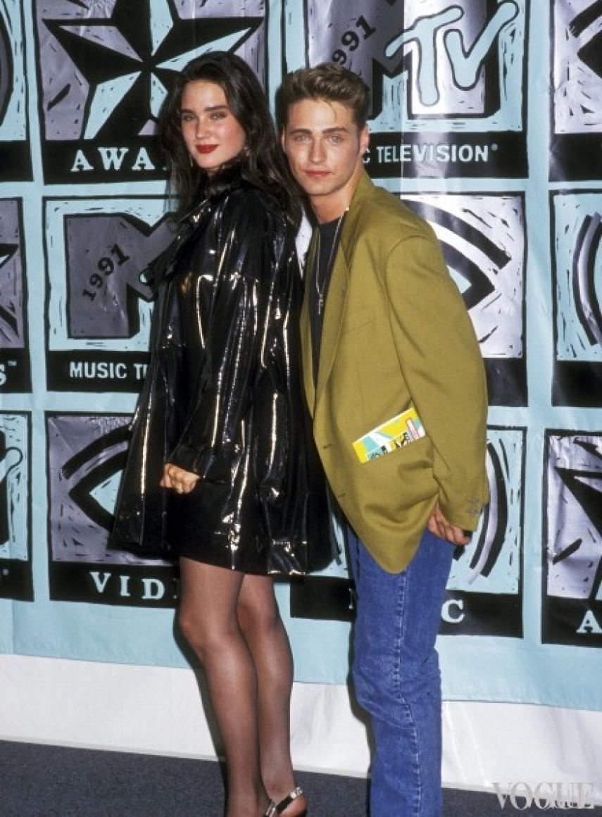 Дженнифер Коннелли и Джейсон Пристли, 1991