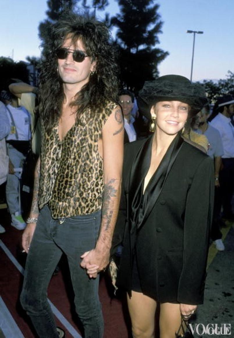 Томми Ли и Хизер Локлир, 1989