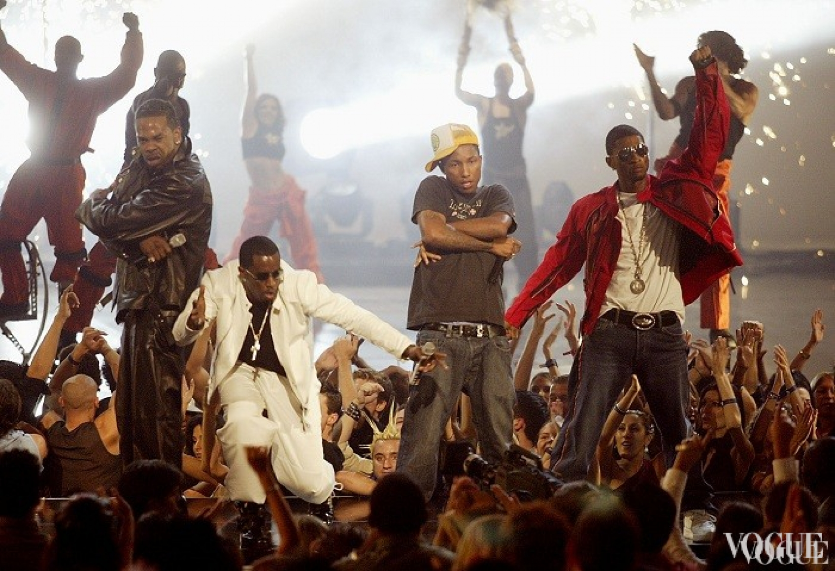 Баста Райамс, P. Diddy, Фаррелл Уильмс (из дуэта Neptunes) и Usher, 2002