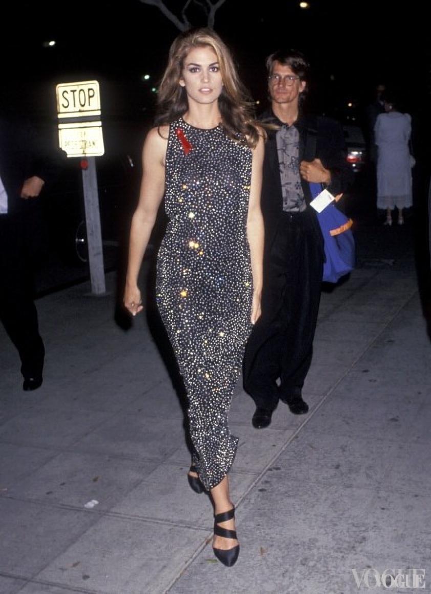 Синди Кроуфорд, 1991