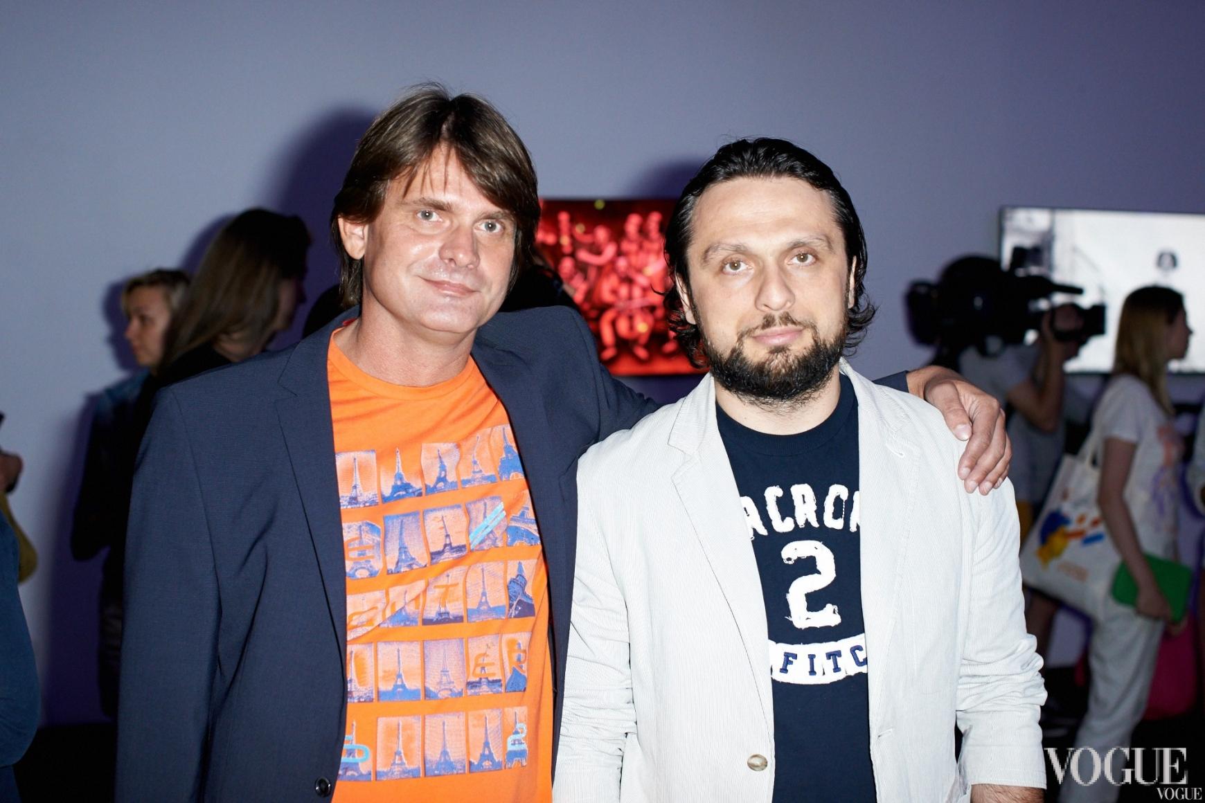 Олег Баишев и Олег Кохан