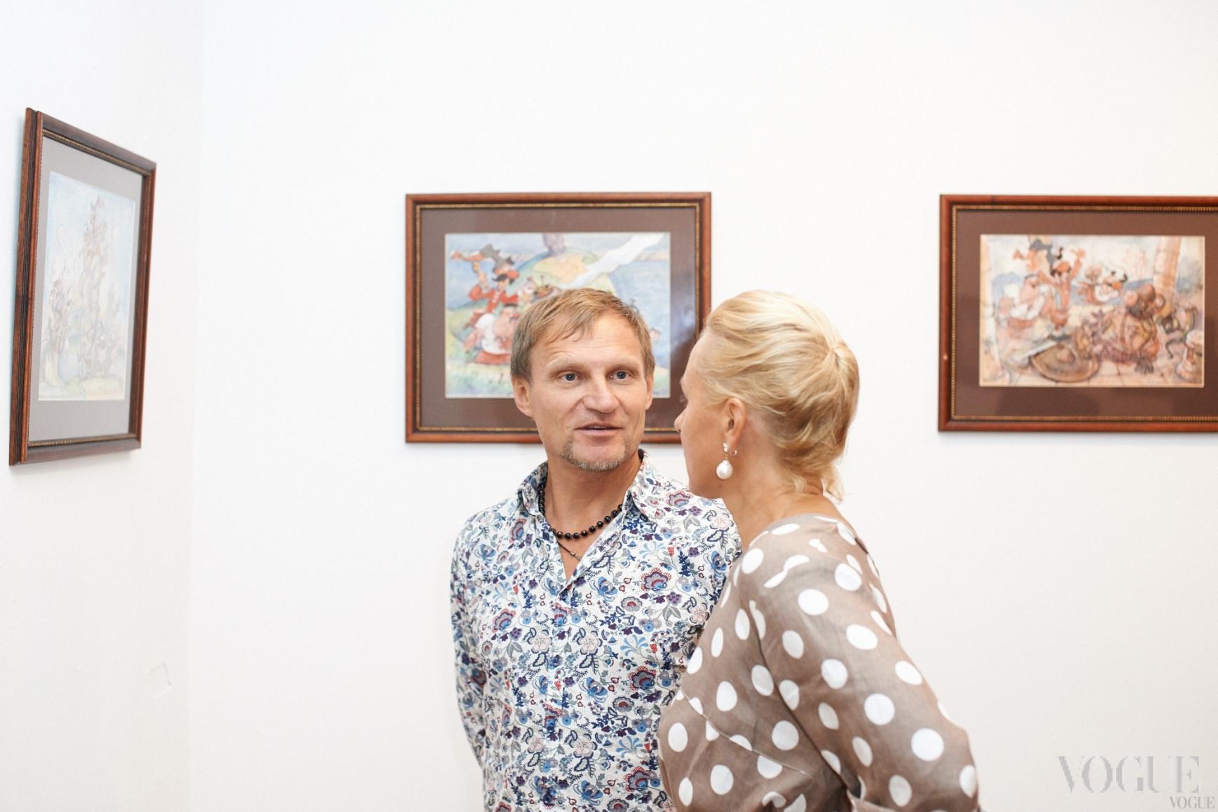 Олег Скрипка и Татьяна Миронова