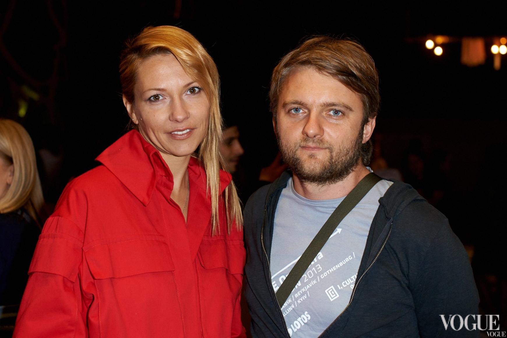 Зинаида Лихачева и Кирилл Карабиц
