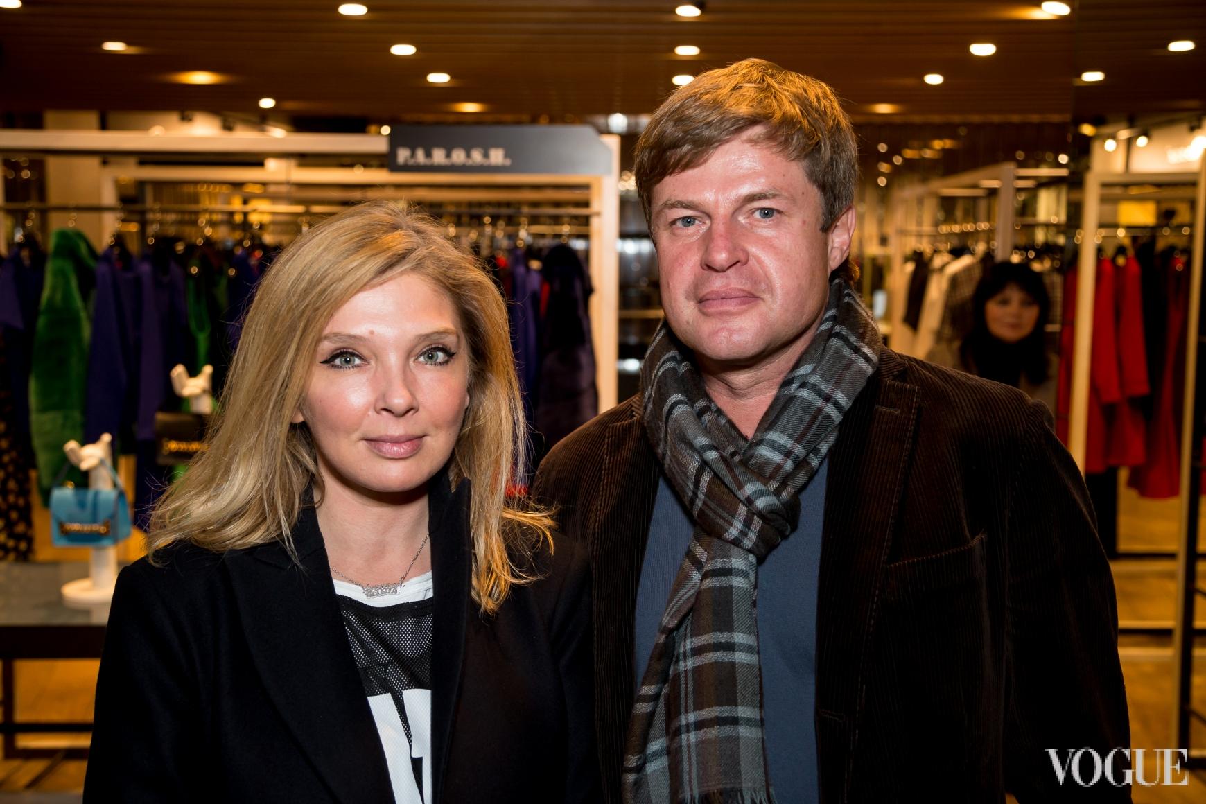 Ольга Навроцкая и Михаил Кавицкий