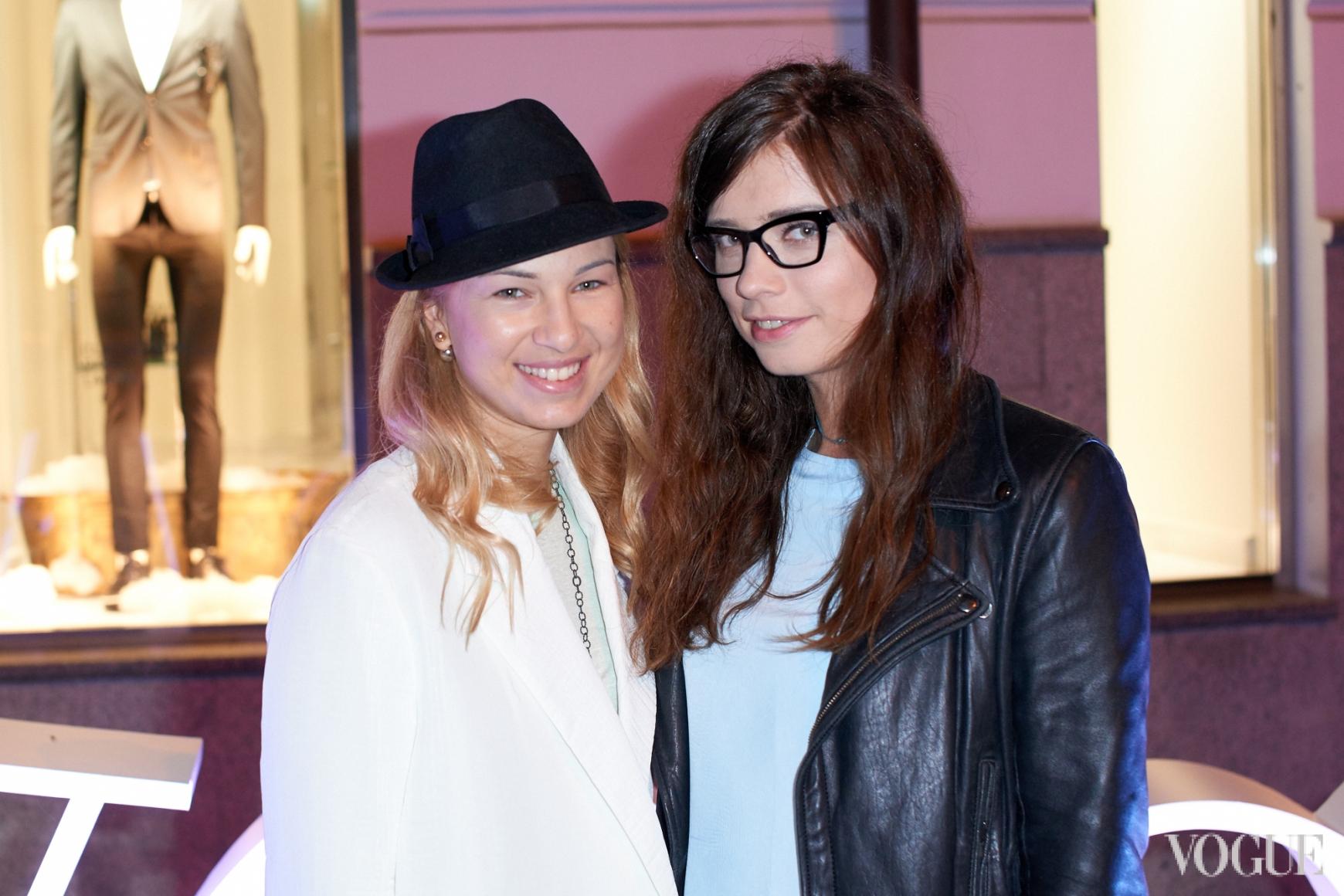 Яна Бучко и Алиса Саенко