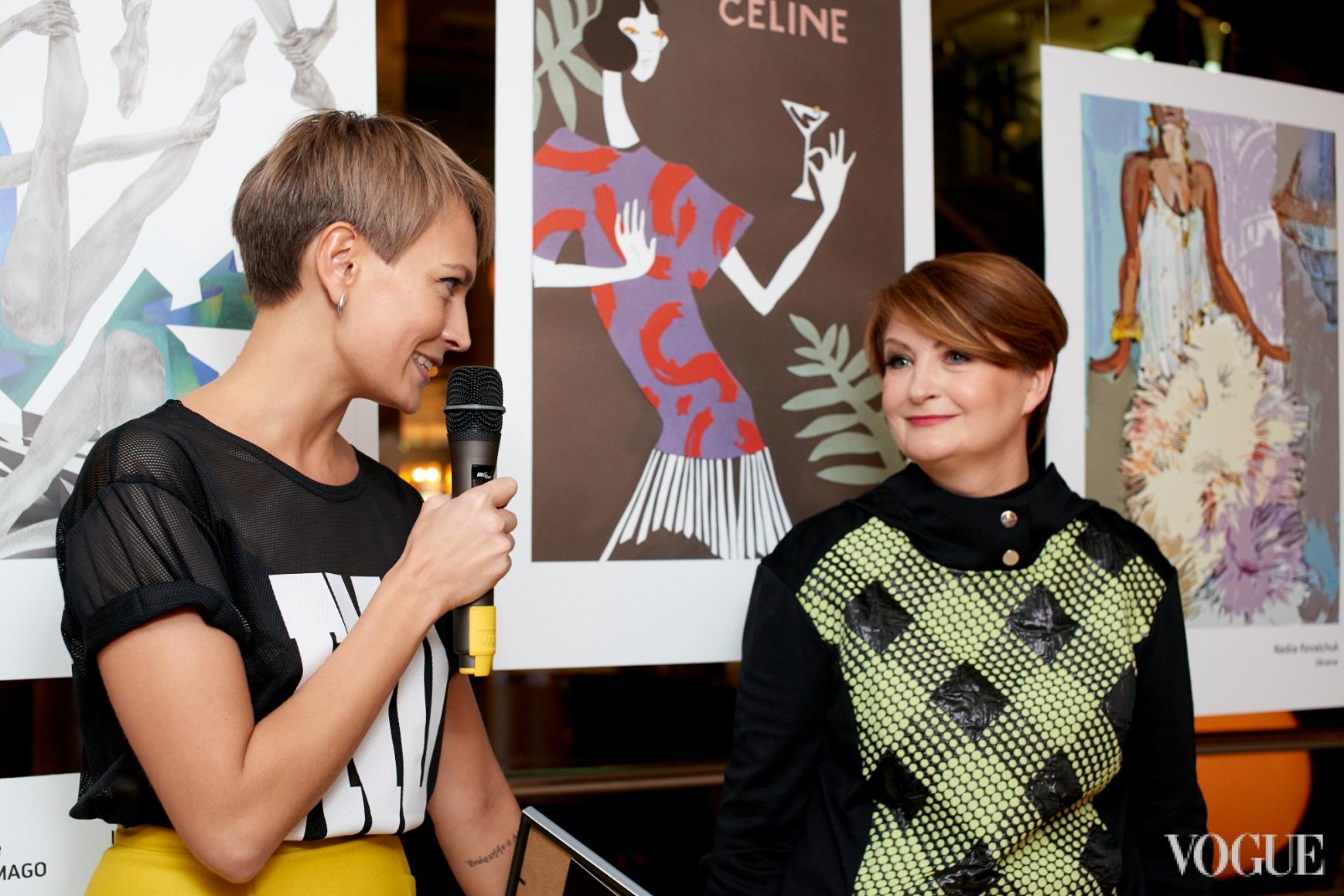 Маша Цуканова и Ирина Данилевская