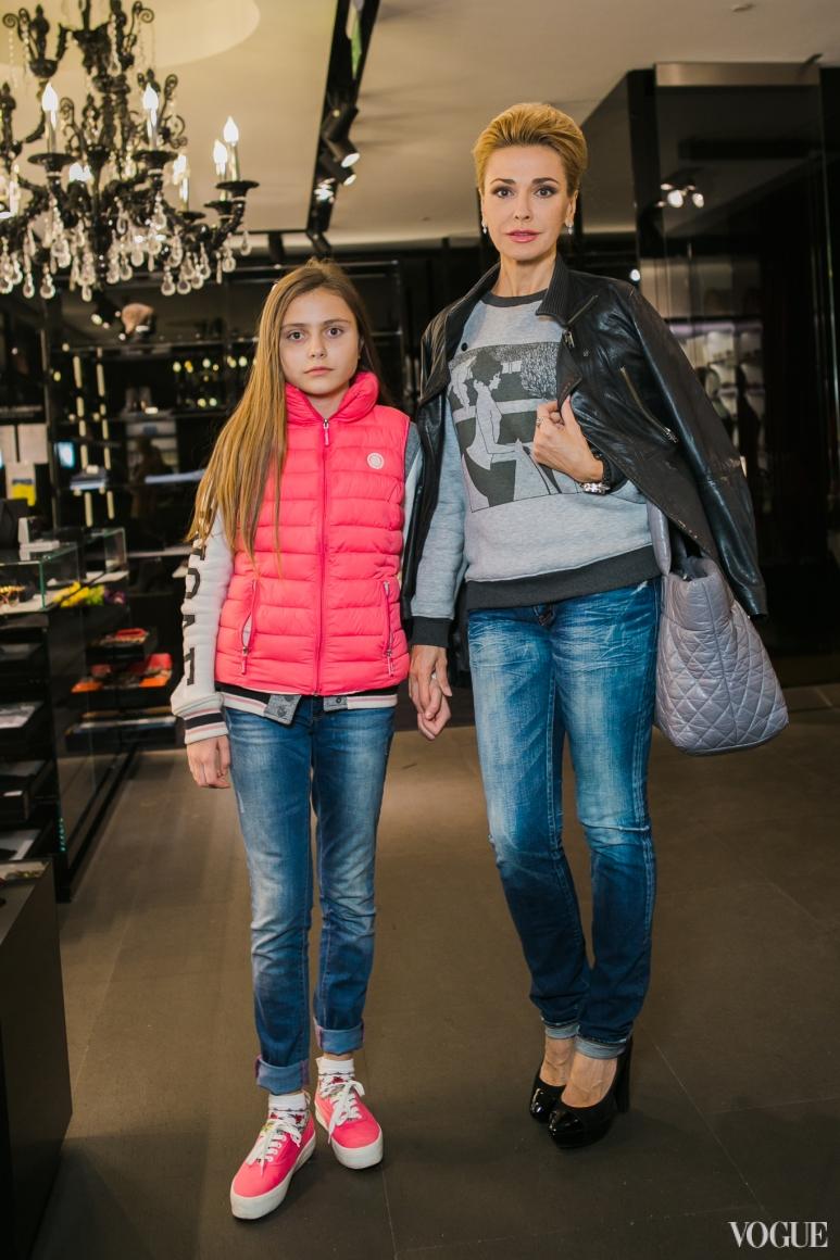 Ольга Сумская с дочерью