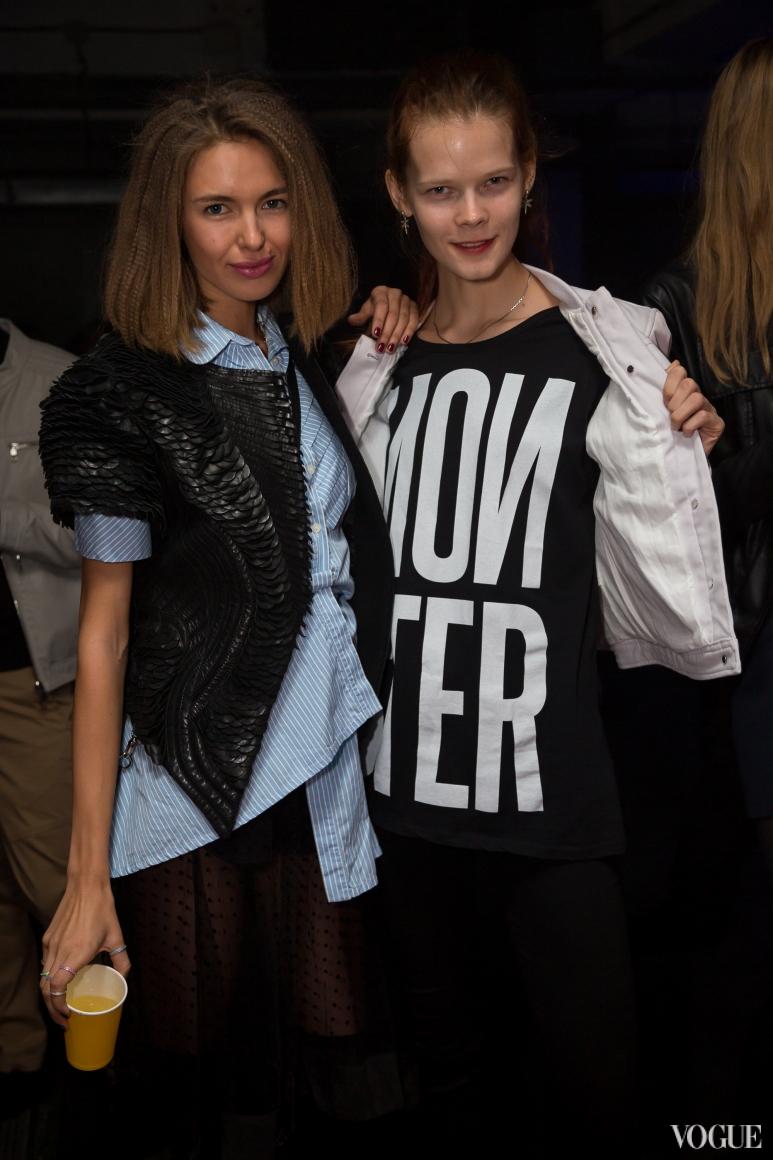 Алена Бевза и Ирина Кравченко