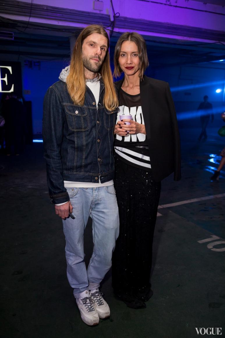 Саша Каневский и Юлия Пелипас