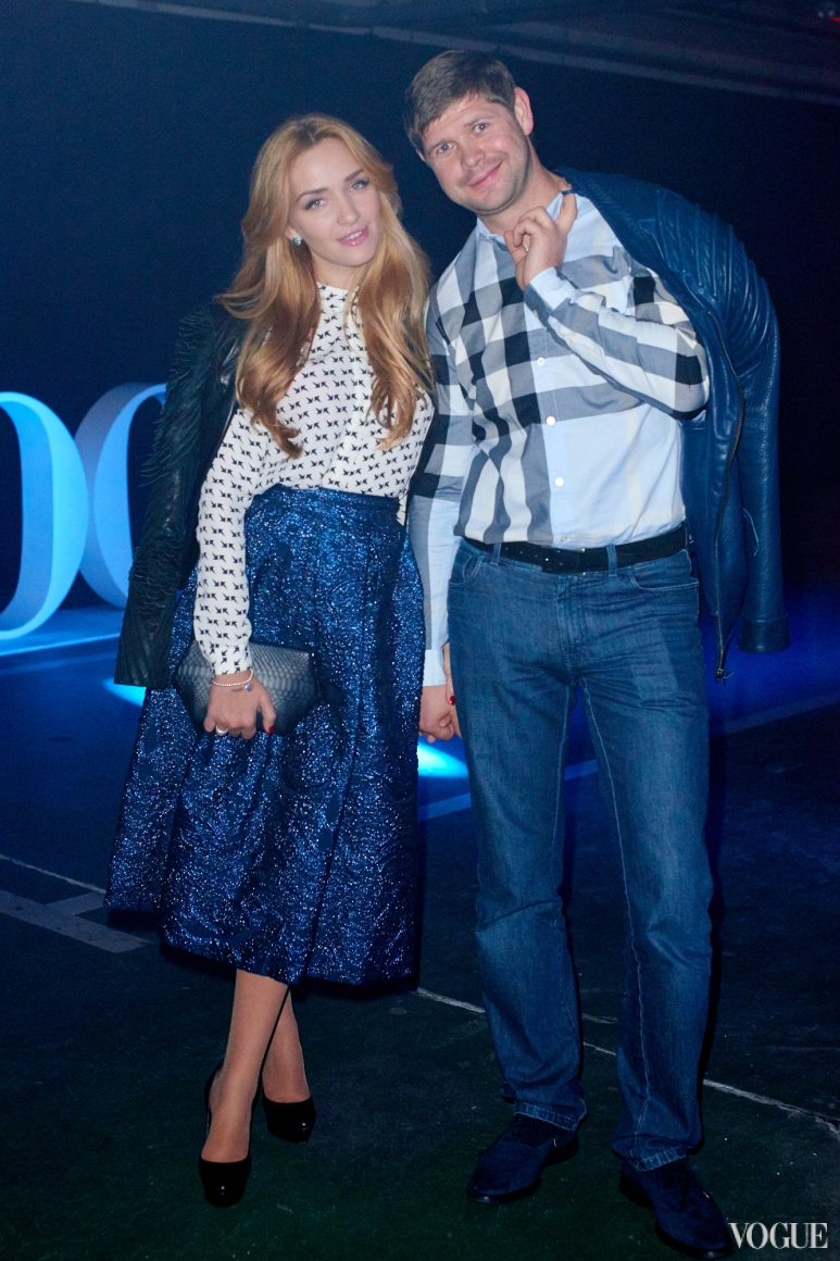 Виктория Мартынюк с мужем Тарасом