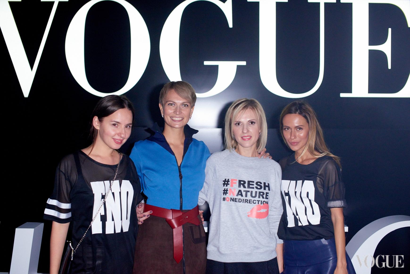 Виолетта Федорова, Маша Цуканова, Юлия Костецкая, Алиса Алиева