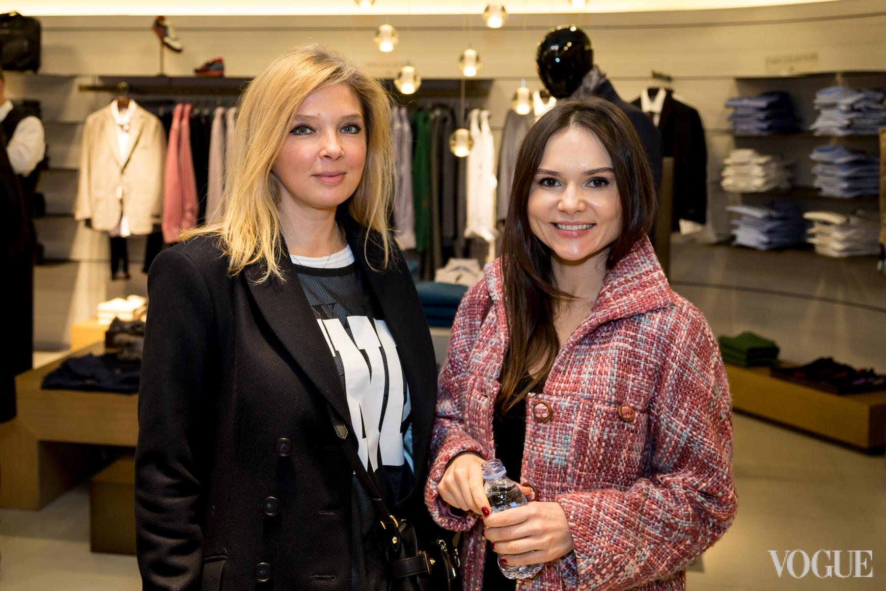 Ольга Навроцкая и Алена Лавренюк