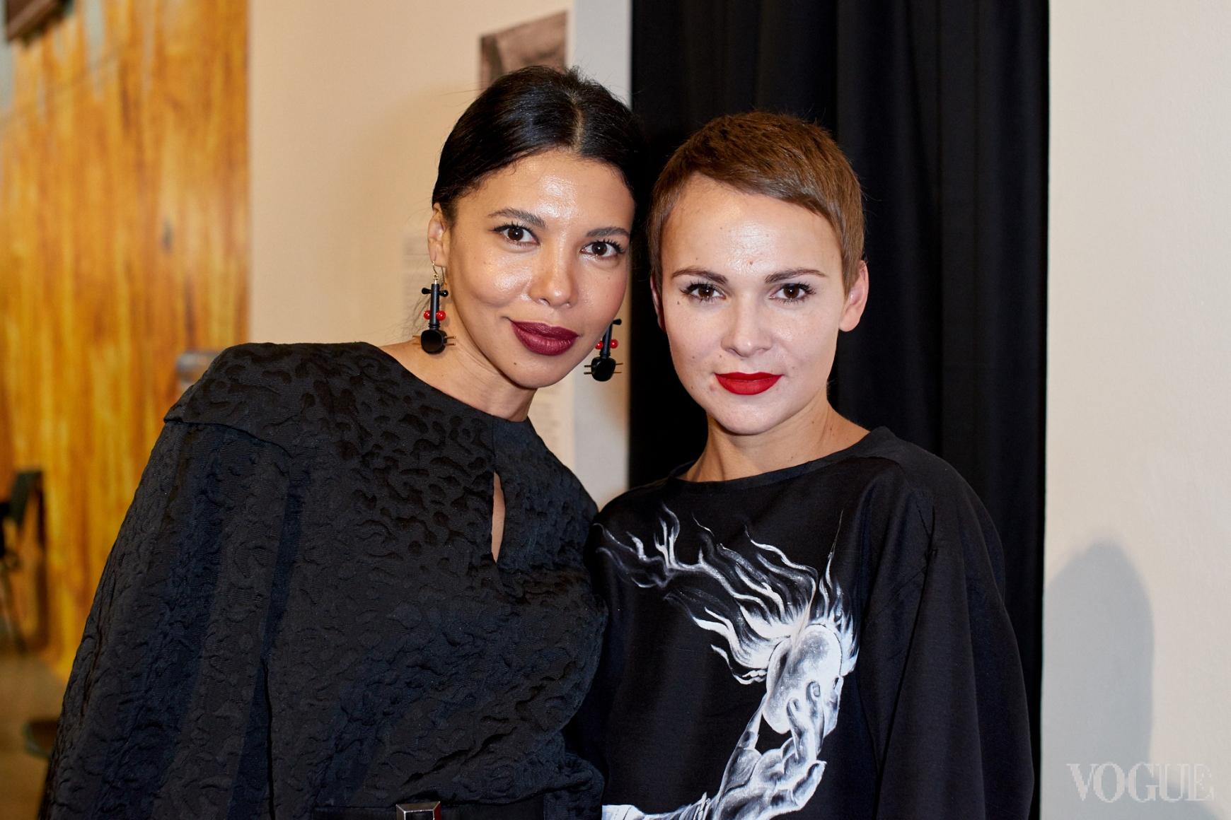 Каролина Ашион и Катя Березницкая