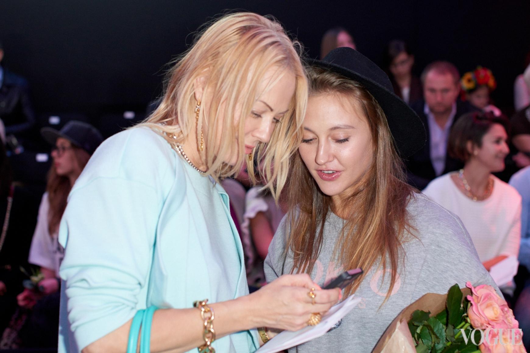 Ольга Аленова и Ева Бушмина