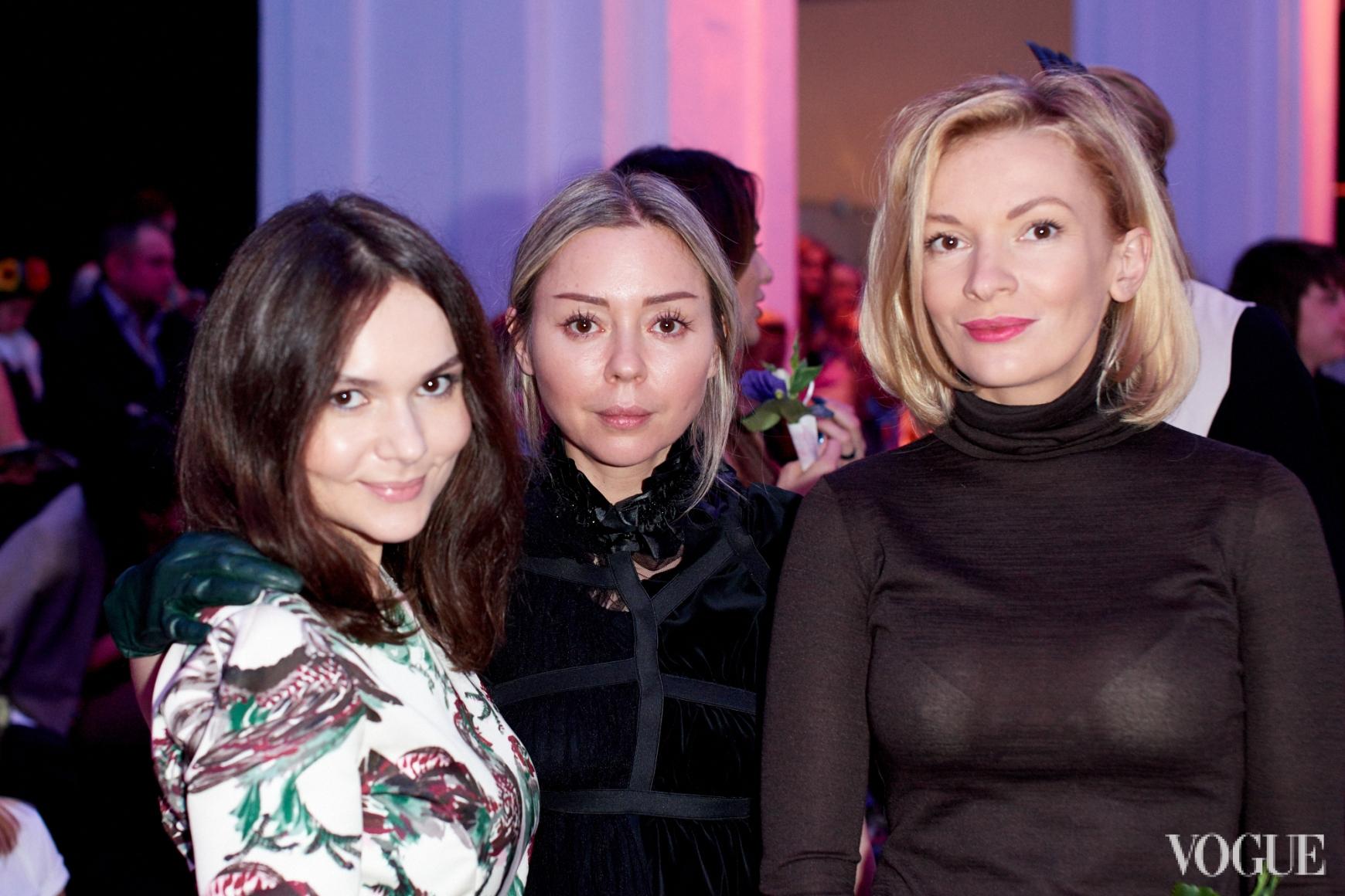 Алена Лавренюк, Оксана Берг, Полина Неня