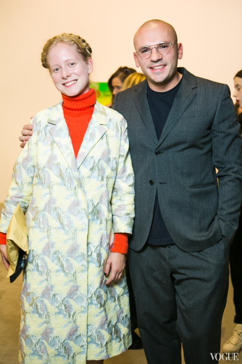 Анна Октябрь и Дмитрий Евенко