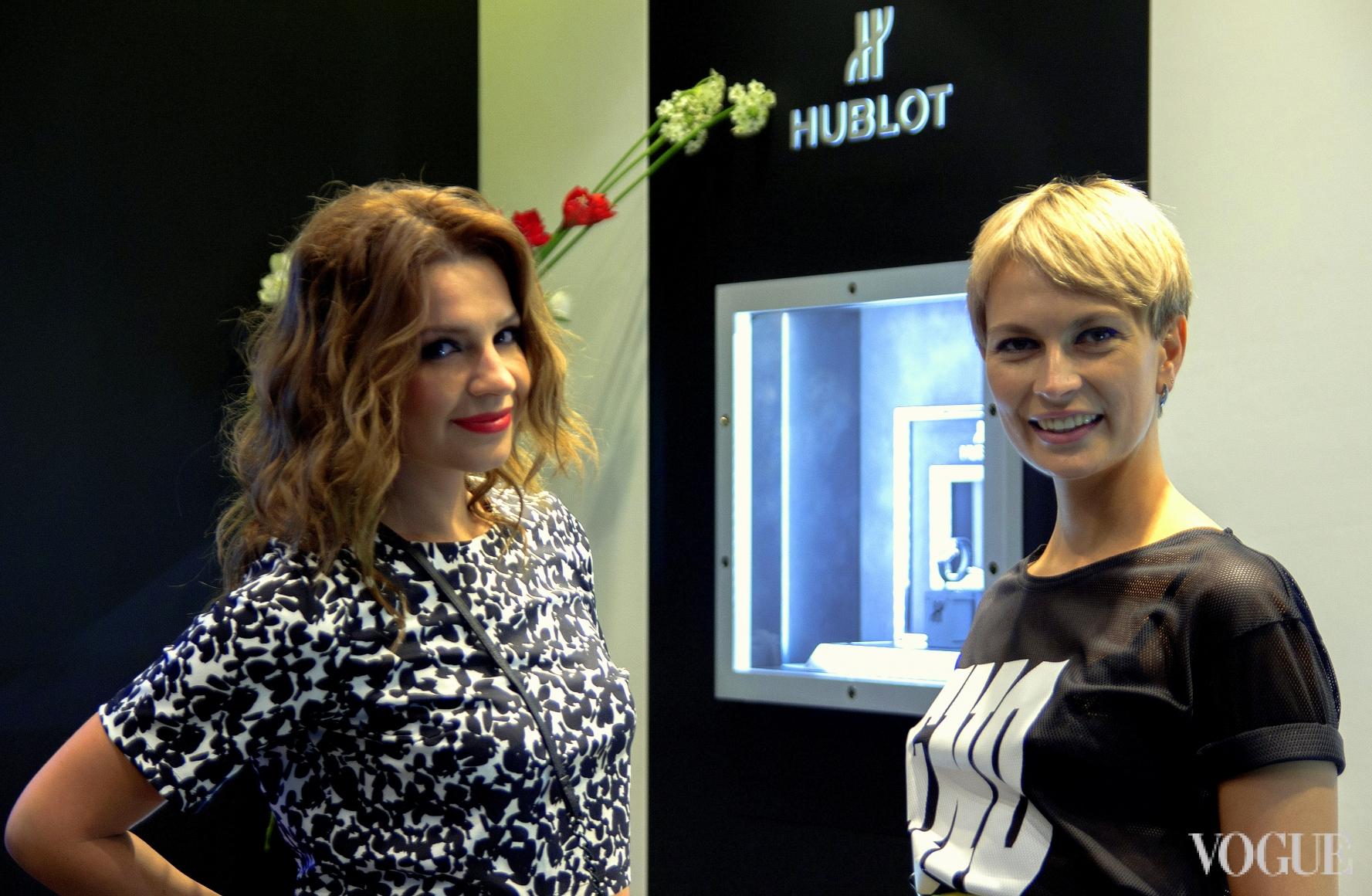 Марина Варюха и Маша Цуканова