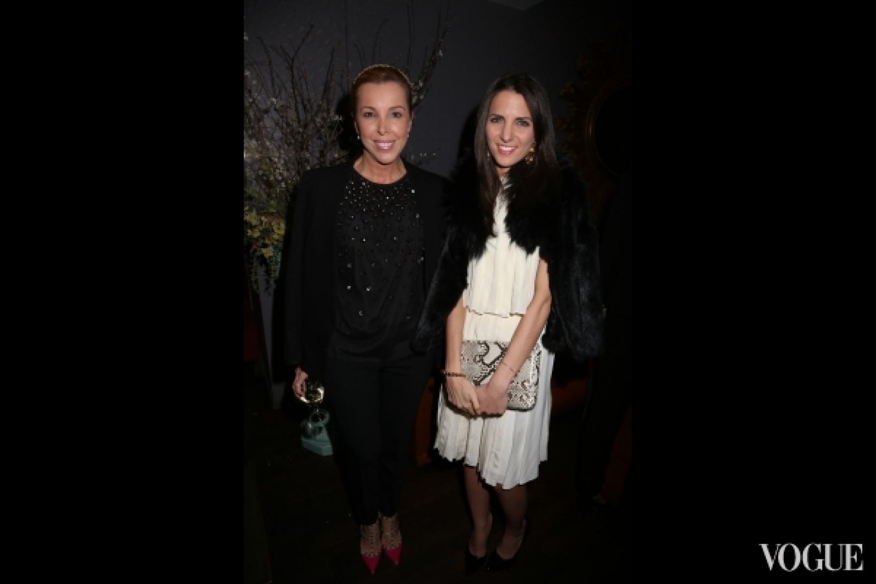 Ева Хьюс (Conde Nast Mexico & Latin America) , Келли Таламас (Vogue Mexico)
