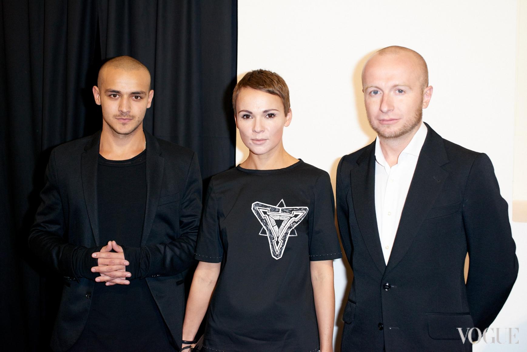 Али Саулиди,  Катя и Евгений Березницкие