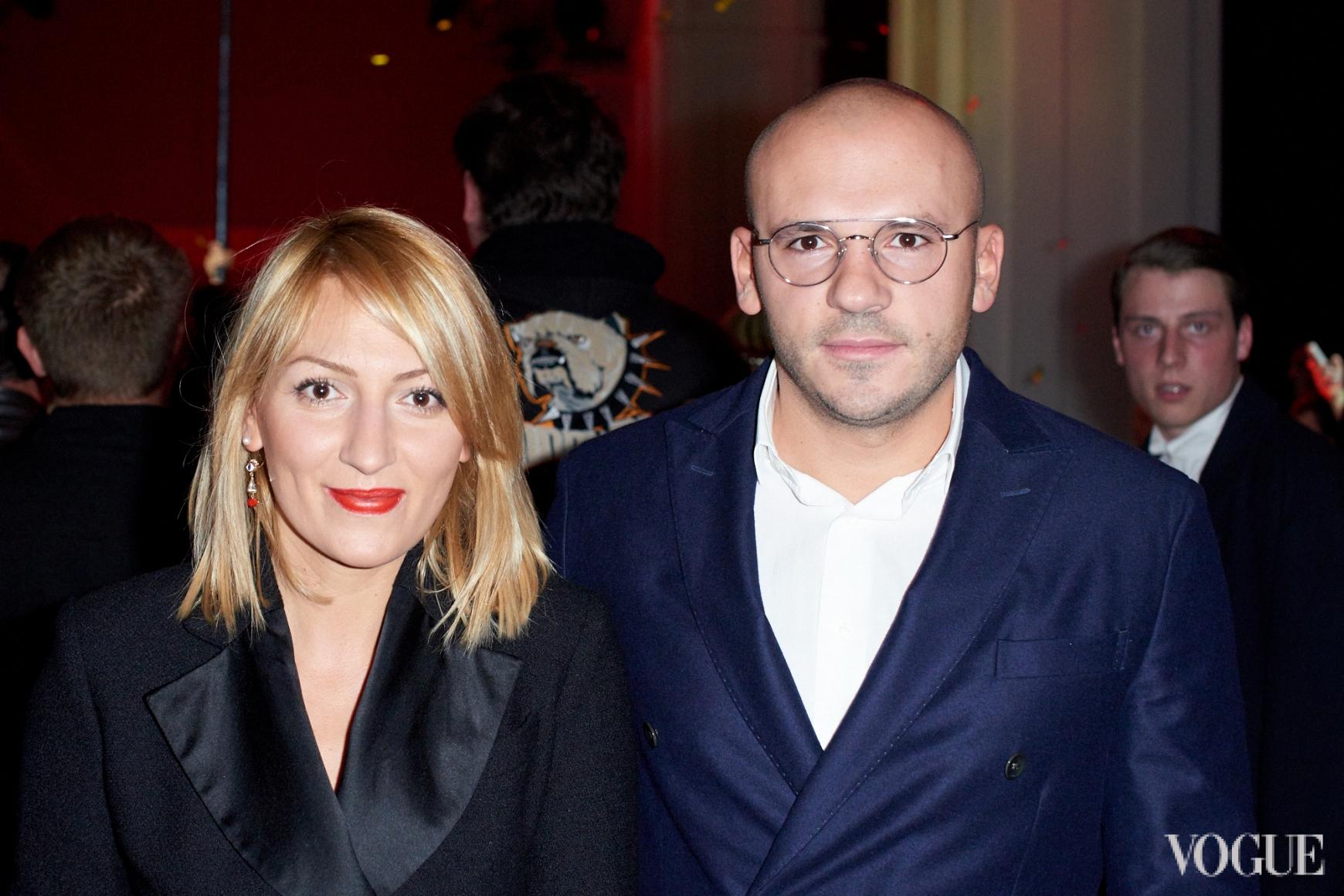 Ася Мхитарян и Дмитрий Евенко
