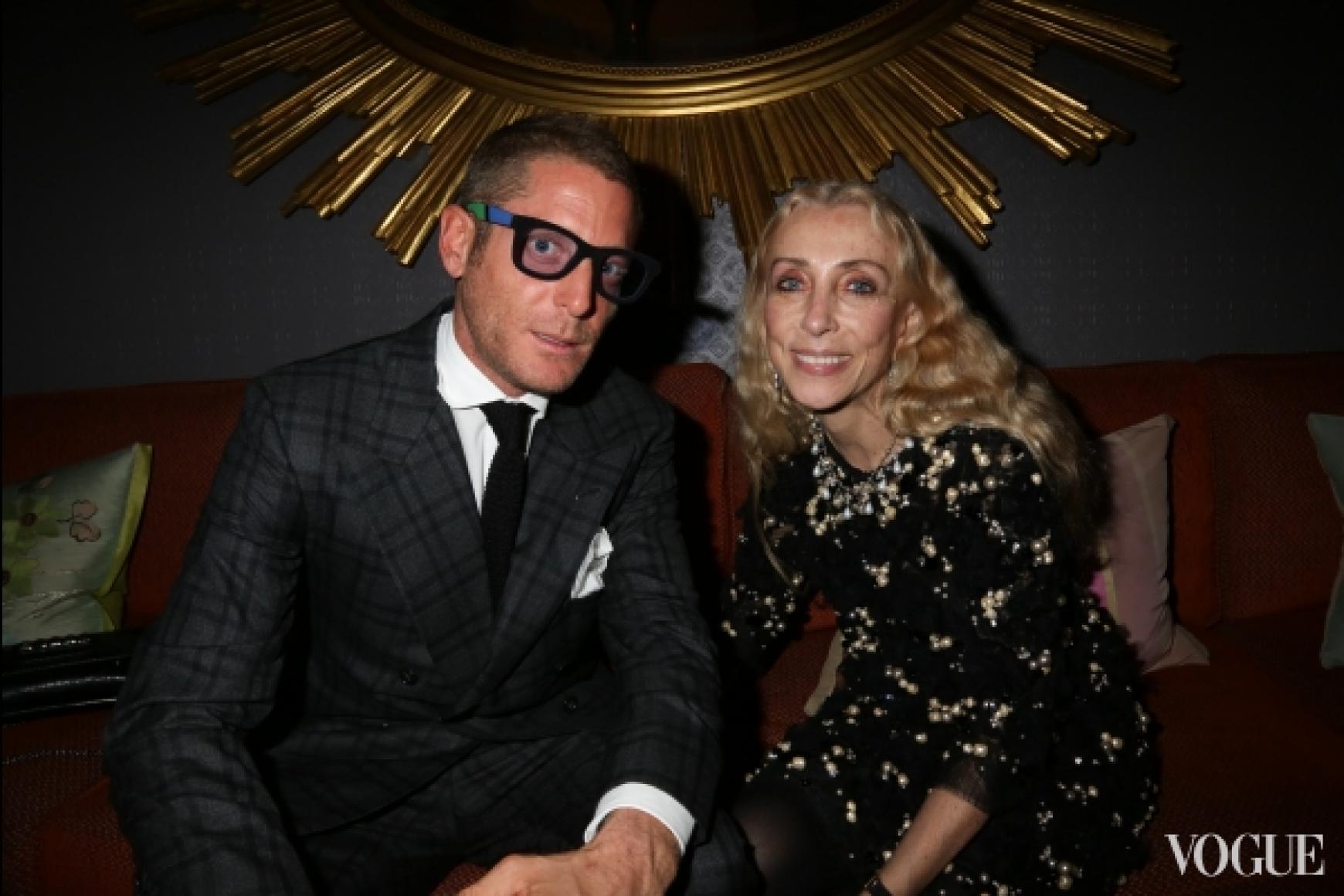Лапо Элканн и Франка Соццани (Vogue Italy)